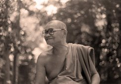 Ajahn Chah - smiling in the Forest